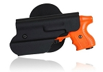 JPX 2-shot – Paddle Kydex Holster with Flashlight Pouch RH