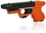 JPX Orange 2 shot pepper gun with laser